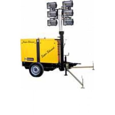 Turn de iluminat WFM TA-M 145, 6x1500W, 8m