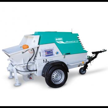 Pompa pentru beton IMER Booster 15, capacitate pompare 2-15 m³/h, granulometrie maxima 25 mm, diesel, 28.4CP