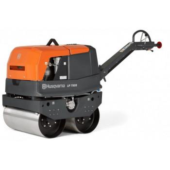 Cilindru compactor dublu Husqvarna LP 7505, Diesel, 7.5 kW, 981kg