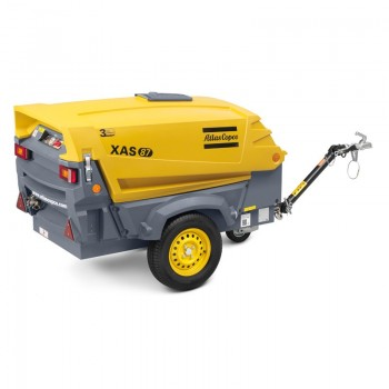 Motocompresor aer Atlas Copco XAS87Kd, 5 mc/min
