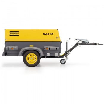 Motocompresor aer Atlas Copco XAS97Dd, 5.3 mc/min