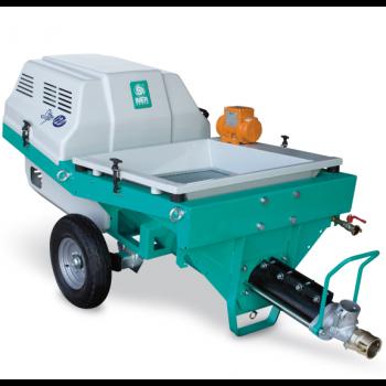 Pompa pentru tencuiala IMER Step 120, 400V, debit material 35 l/min