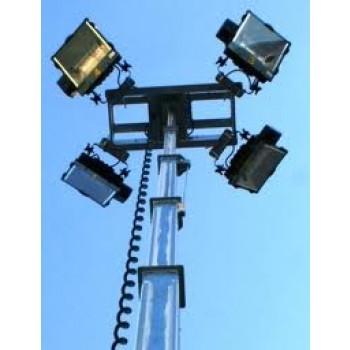 Turn de iluminat WFM TD-8000IM, 4x1000W, 9m
