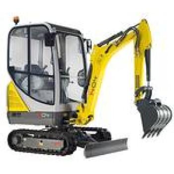 Excavator WACKER NEUSON 1404, senile, 1.4tone, 24CP