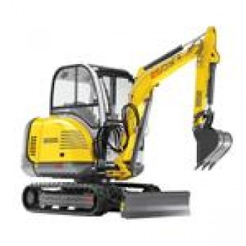 Excavator WACKER NEUSON 2503, senile, 2.6tone, 37CP