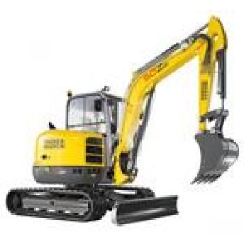 Excavator WACKER NEUSON 50Z3, senile, 4.9tone, 48CP