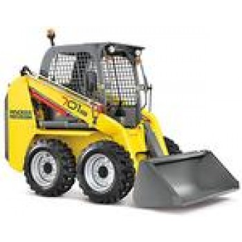 Mini incarcator frontal WACKER NEUSON 701 s, 2.4tone, 46CP