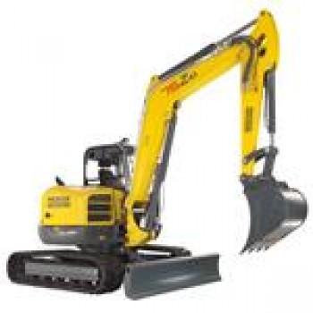 Excavator WACKER NEUSON 75Z3, senile, 7.3tone, 69CP