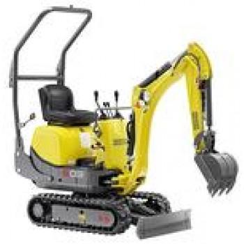 Excavator WACKER NEUSON 803, senile, 1tona, 18CP